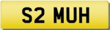 MUHAMMAD Private Cherished Registration Number Plate MUH MUHAMMED